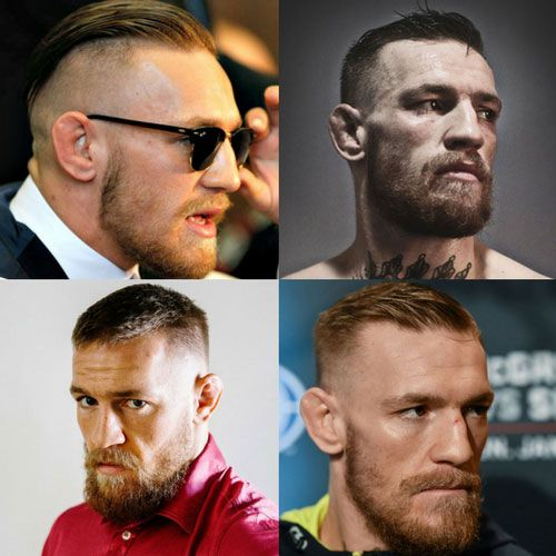 Conor mcgregor haircut 2018 best hairstyles for men for Coupe cheveux mcgregor