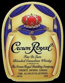Crown Liquor Label Liquor Labels Pinterest Royals
