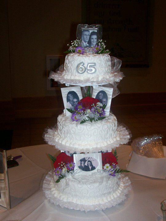 65th Wedding Anniversary Cake 65th Wedding Anniversary Wedding