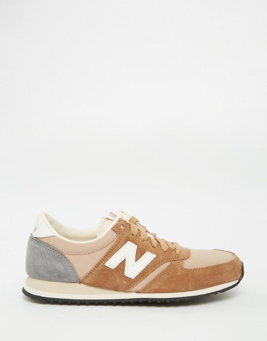 new balance beige suede