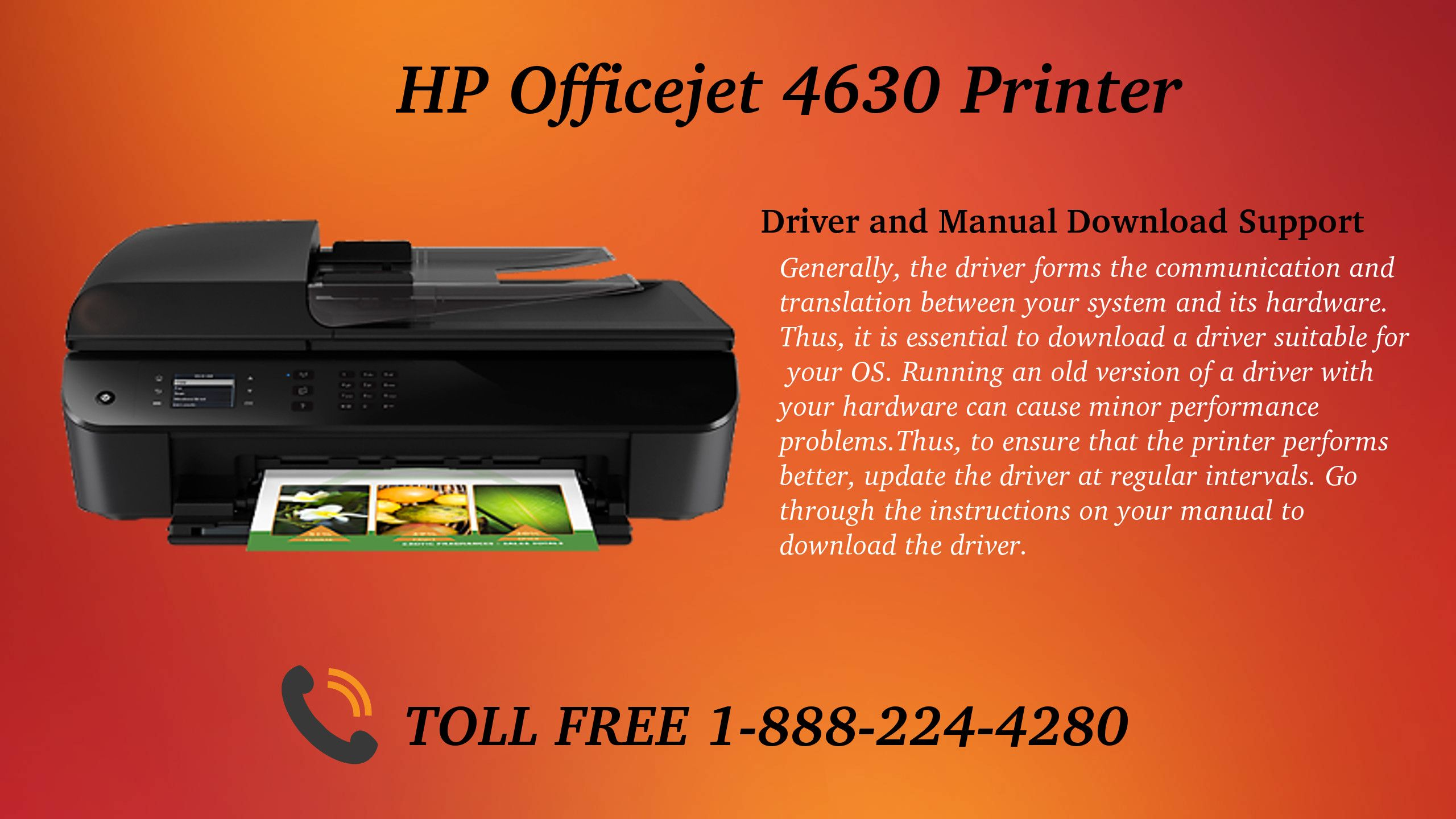 drivers for hp officejet 4630 series