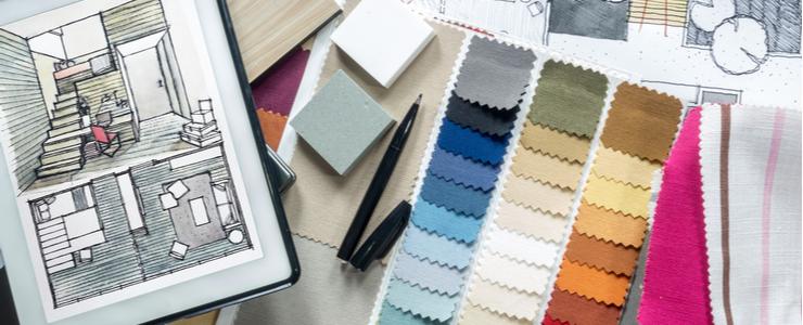 The Psychology Of Color For Interior Designers The Art Career Project Interior Design Career Boutique Interior Design How To Become An Interior Designer