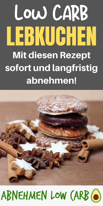 Mega leckere Low Carb Lebkuchen! Perfekt fürs abnehmen!  Diese sind perfekt wenn du lecker essen und gleichzeitig abnehmen möchtest! #glutenfreierezepte