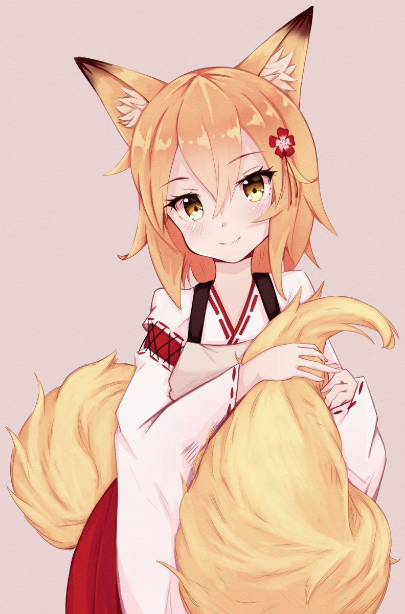 Sh10 on Twitter  Anime chibi, Anime, Fox girl