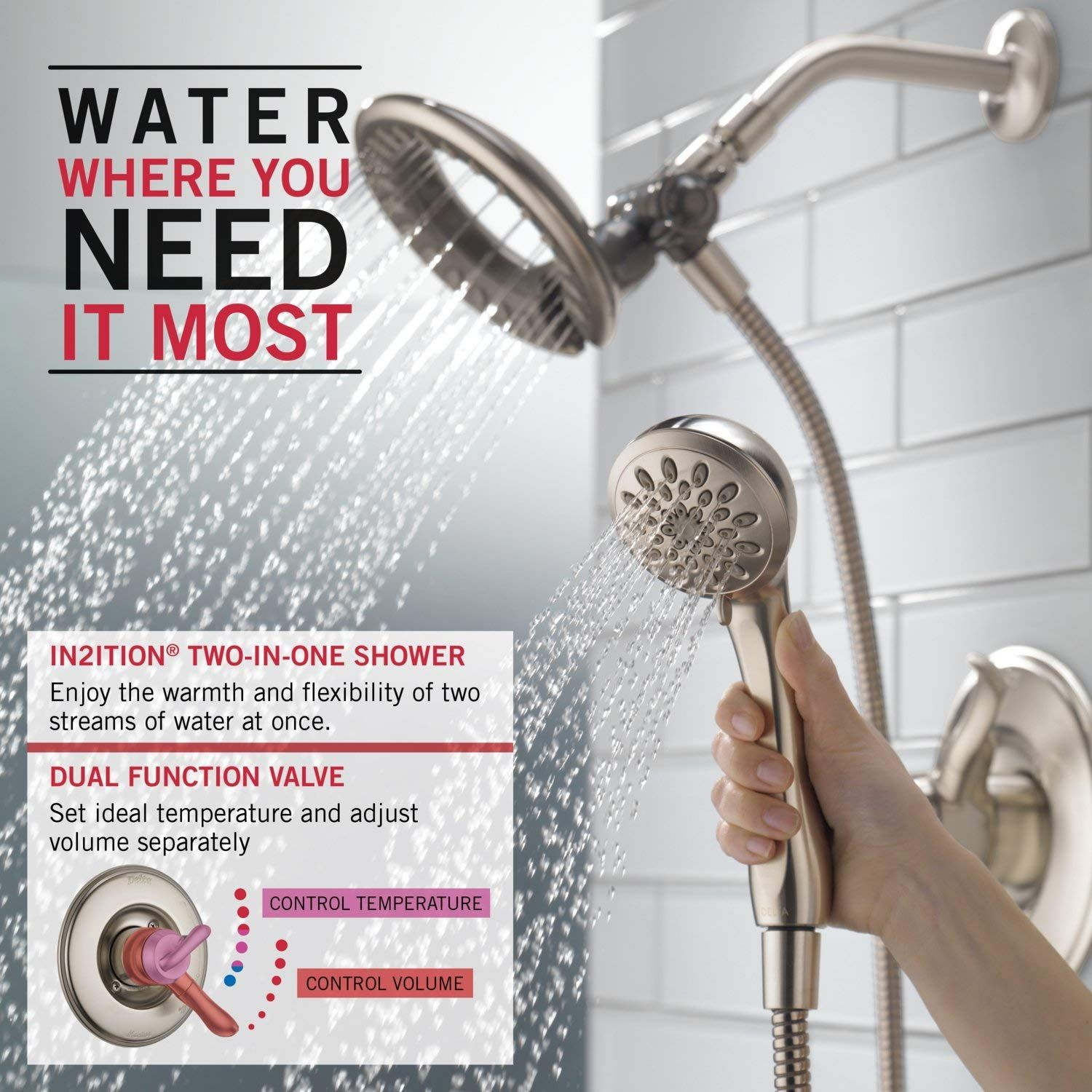 Best Shower Faucet Reviews In 2019 Tub Shower Faucets Shower