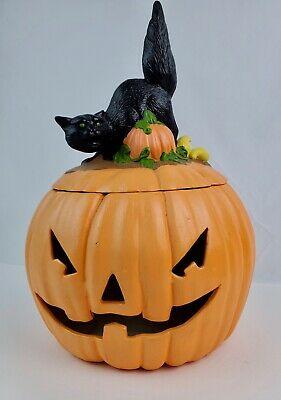 33 Best Halloween Cat Cookie Jars | Halloween cookie jar ...