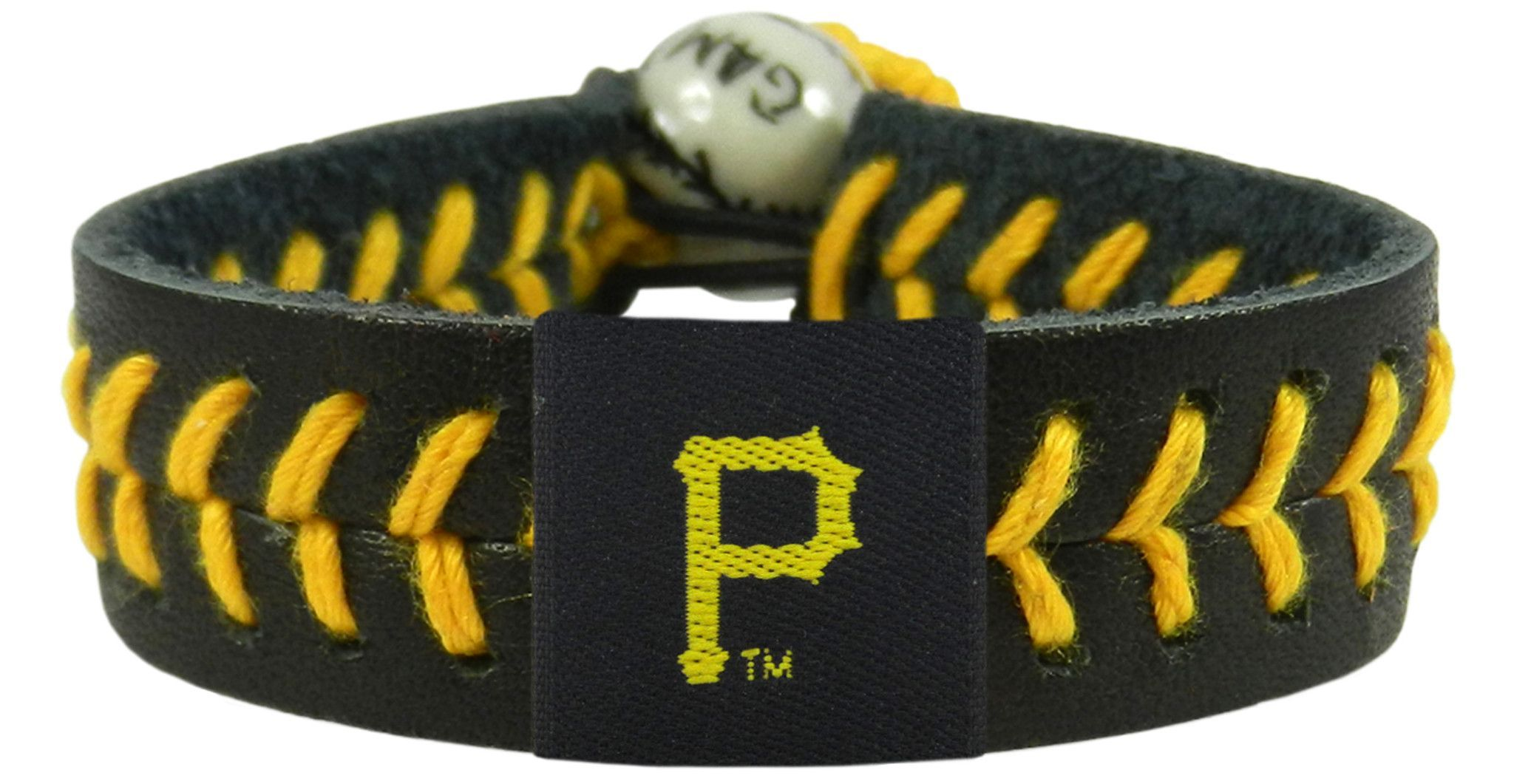 8cebf893649f2 Pittsburgh Pirates Baseball Bracelet - Team Color Style