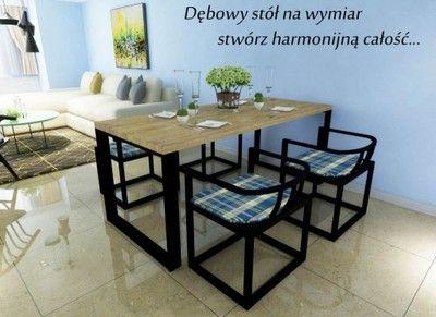 Kup Teraz Na Allegropl Za 4000 Zł Stół Dębowy Salon
