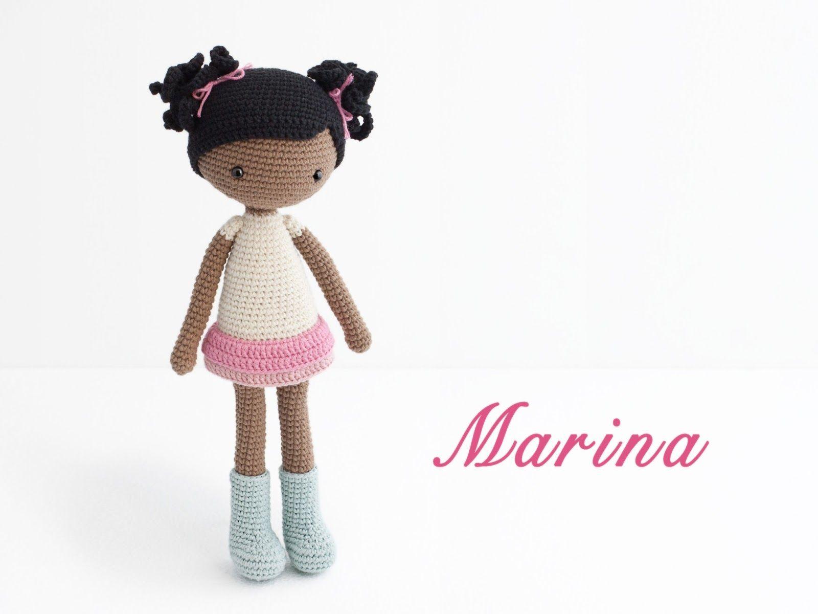 Amigurumi Marina doll | Amigurumi | Pinterest | Muñecas, Patrones de ...