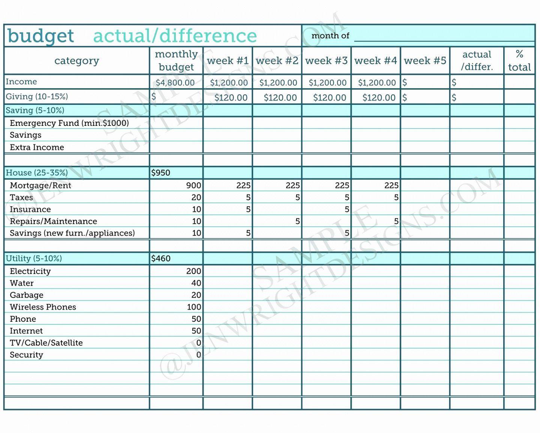 zero ased udget xls monthly worksheet spreadsheet template