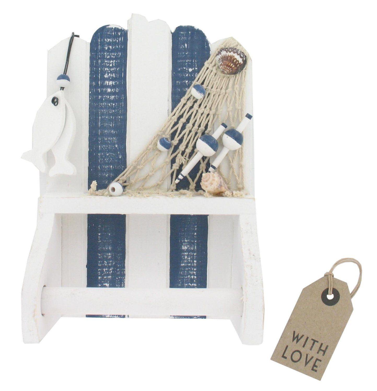 Nautical Design Toilet Roll Holder - Bathroom Accessories (GW688 v ...