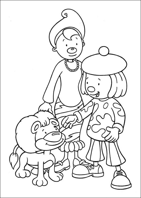 Dibujos para Colorear Jo Jo\'s Circus 4 | Dibujos para colorear para ...