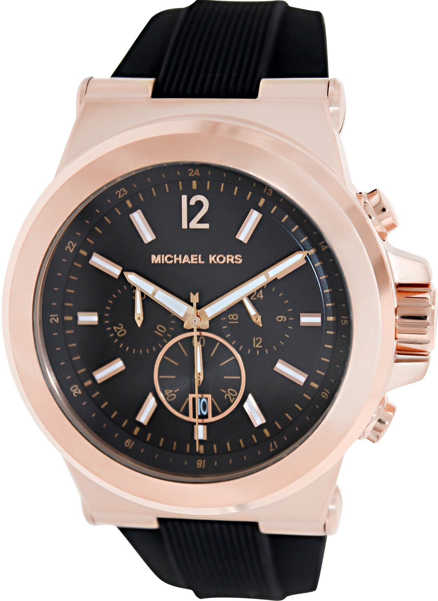 Amazon Michael Kors MK8184 Classic Watch Dial: Black chronograph: Michael Kors: Watches