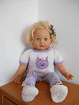 Hračky - Zoe - oblečenie pre bábiku - 5748308_