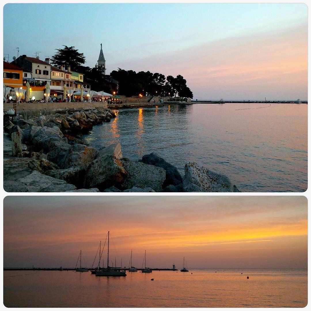 Letztes Jahr #urlaub in #istrien #kroatien #mare  #holiday  #croatia  #sundowner  #sunset #sailboat  #wonderfulworld  #sky #cloud #chillen  by wildcurls72