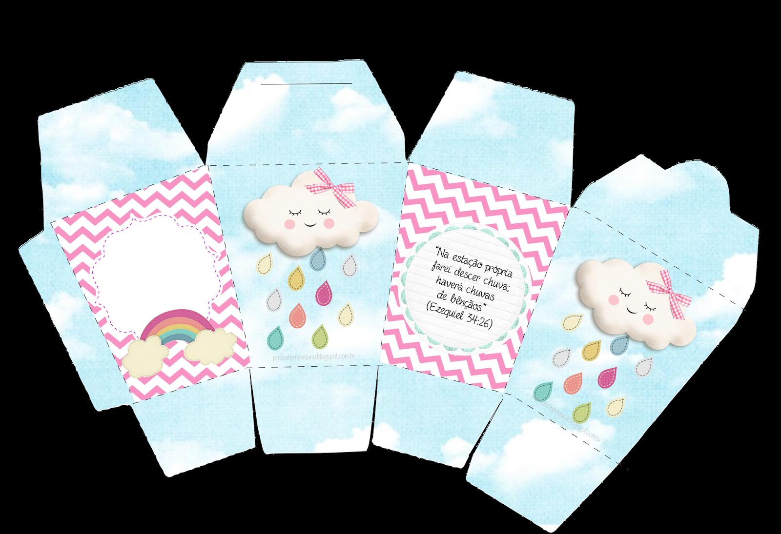 f217a94b13dd4b Passatempo da Ana: Micro Kit - Chuva de Bençãos | Baby Shower ideas ...