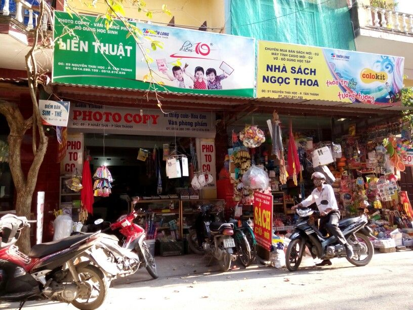 Book stores in Ninh Binh