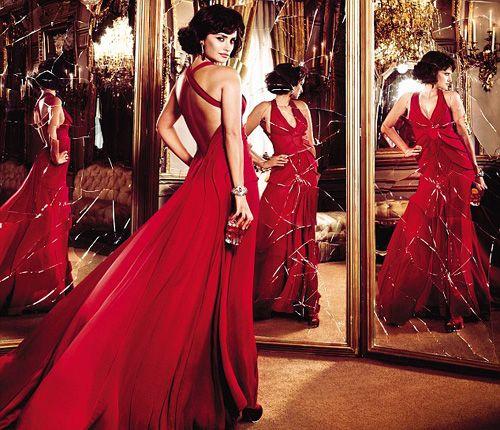 Fashion and Clothing Stores: Penelope Cruz and Campari Calendar 2013