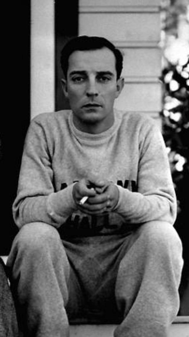 Buster Keaton circa 1931 - Funny men are sexy!