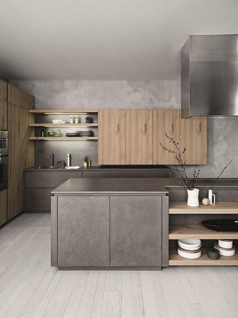 61 Top Sleek Contemporary Kitchen Designs Inspiration Contemporary Kitchen Design Modern Kitchen Design Modern Kitchen
