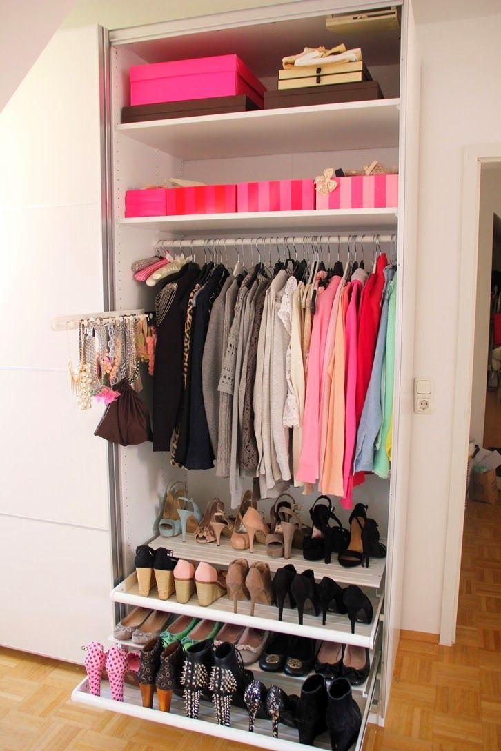 Mein neuer Ikea PAX Kleiderschrank | System | Pinterest ...