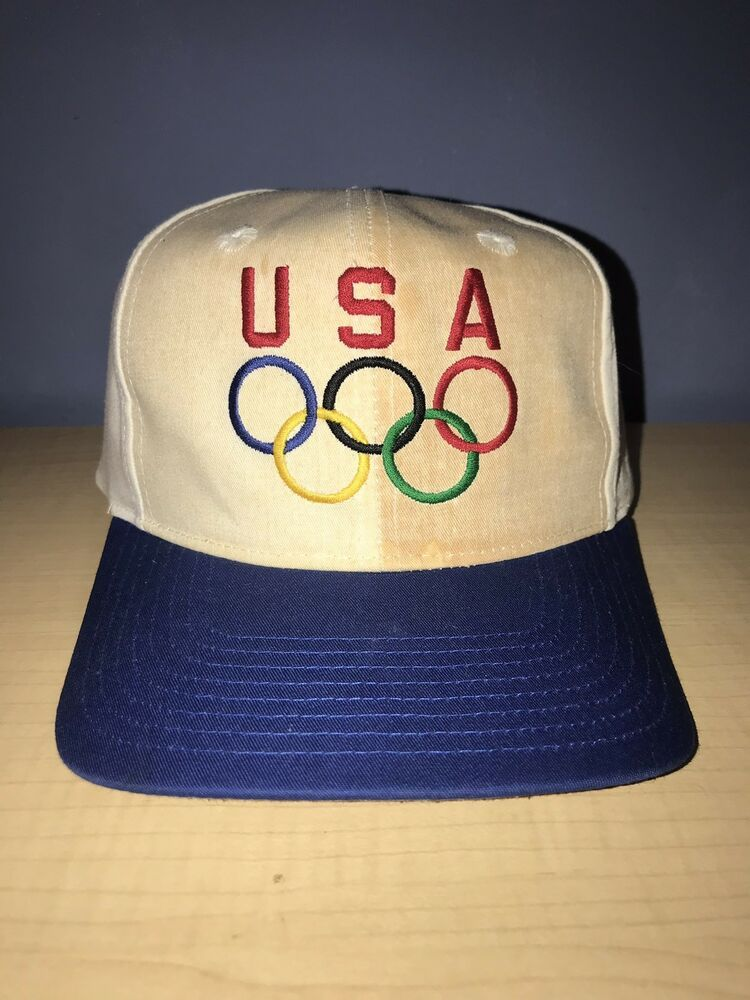 182103e5c16 Vintage USA Olympics Snapback  Hat  fashion  clothing  shoes  accessories   mensaccessories