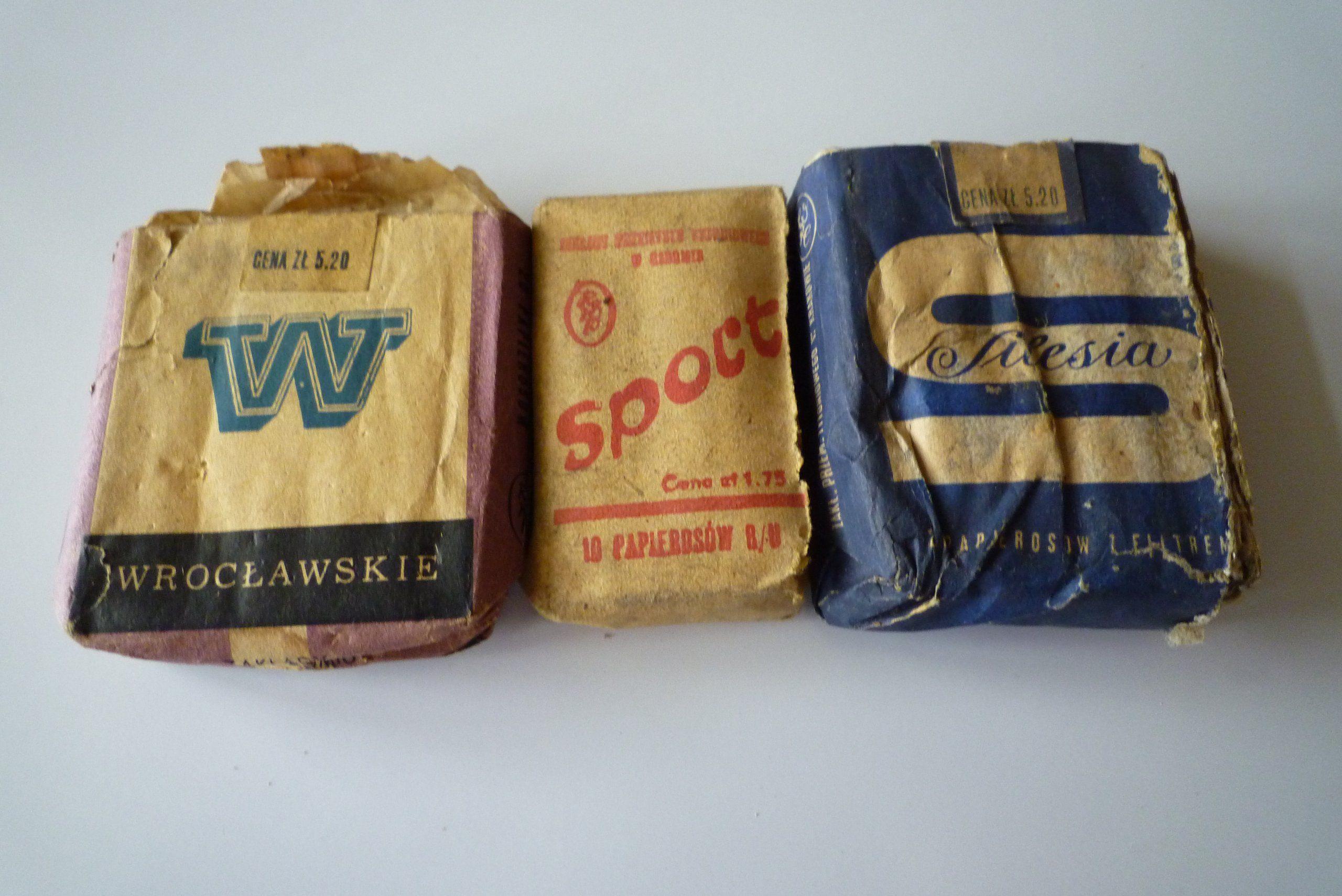 Papierosy Wroclawskie Silesia Sport 10 6582938716 Oficjalne Archiwum Allegro Retro B O Tobacco