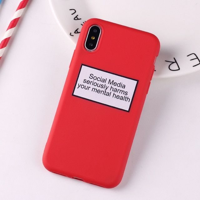 Typography Collection 1 Printed Cases for iPhone — Scrypted Dreams