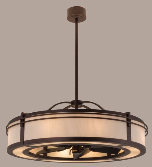 "Ceiling Fans Light Fixtures: Meyda """"Chandel-Air"""" Or Fan-delight Combines A Ceiling"