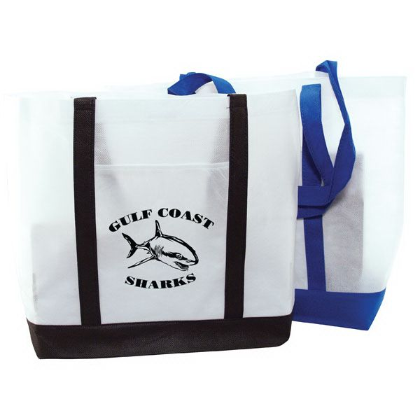 """22/"""" LARGE Canvas Reusable Grocery Shopping Bag Boat Tote Totes Bag 4 COLOR"""