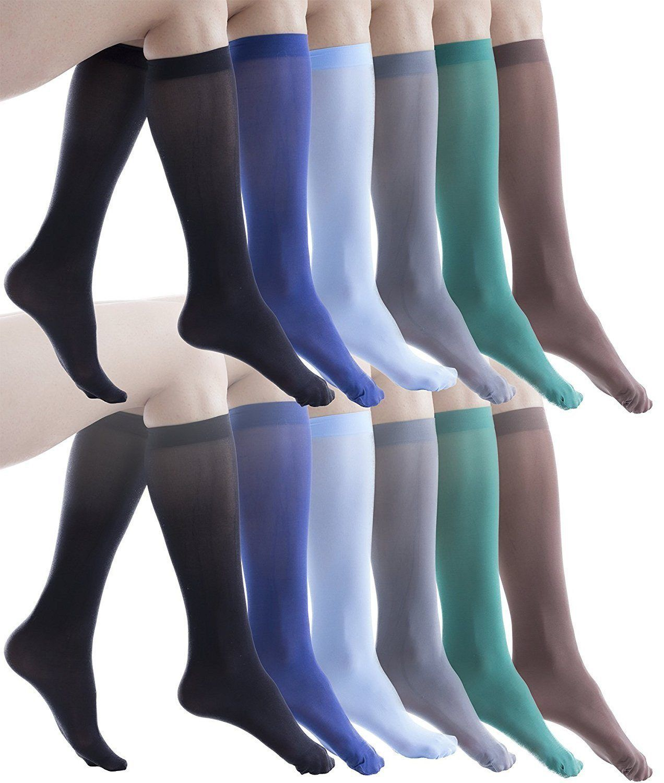de6842b8752 12 Pairs of Felicity Womens Trouser Socks