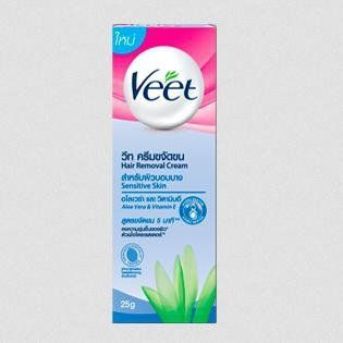 Veet Hair Removal Cream With Aloe Vera And Vitamin E 25g