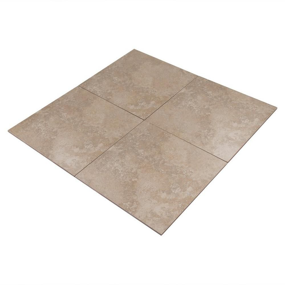 angra cafe ceramic tile - 18in. x 18in. - 911103992 | floor and