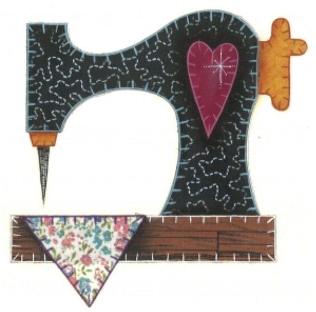 Para decorar cuarto costura | Máquinas de coser | Costura, Bordado y ...