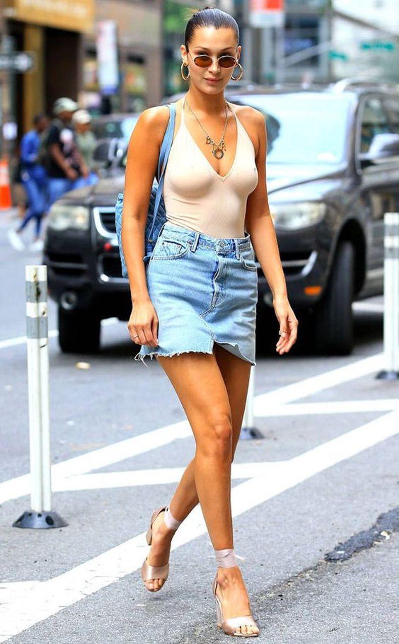Llegó El Calor Y Nuestra Mini De Jeans Es Perfecta Para Armar Los Más Estilosos Looks