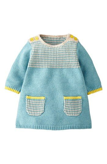 Photo of Mini Boden 'Stripey' Knit Dress (Baby Girls) | Nordstrom