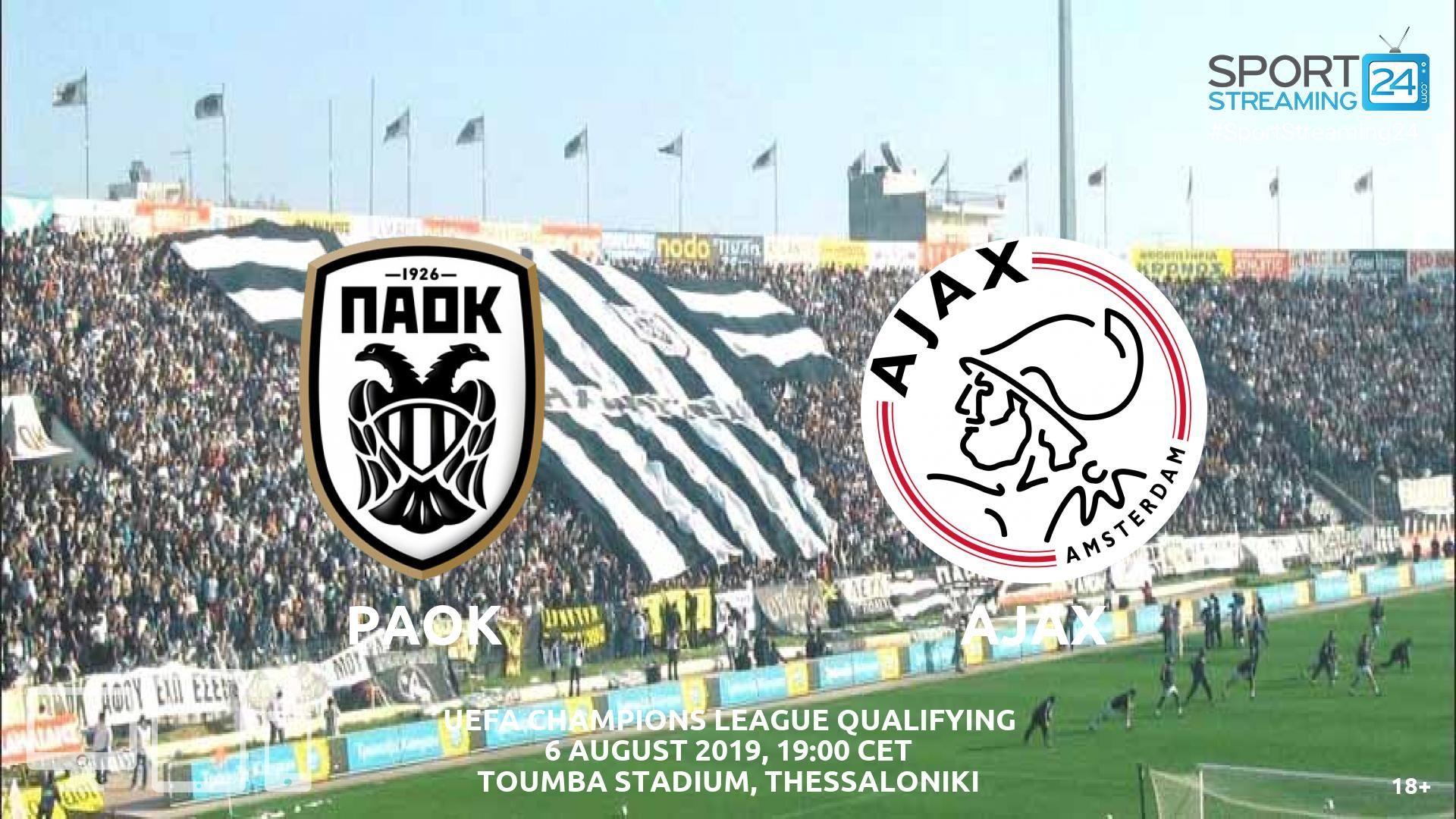 Paok Salonika V Ajax Live Streaming Football Streaming Live Football Streaming Leganes