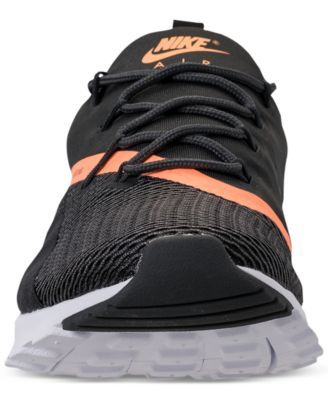 watch 822da 6766f Nike Women s Air Max Motion Racer 2 Running Sneakers from Finish Line -  Black 8.5