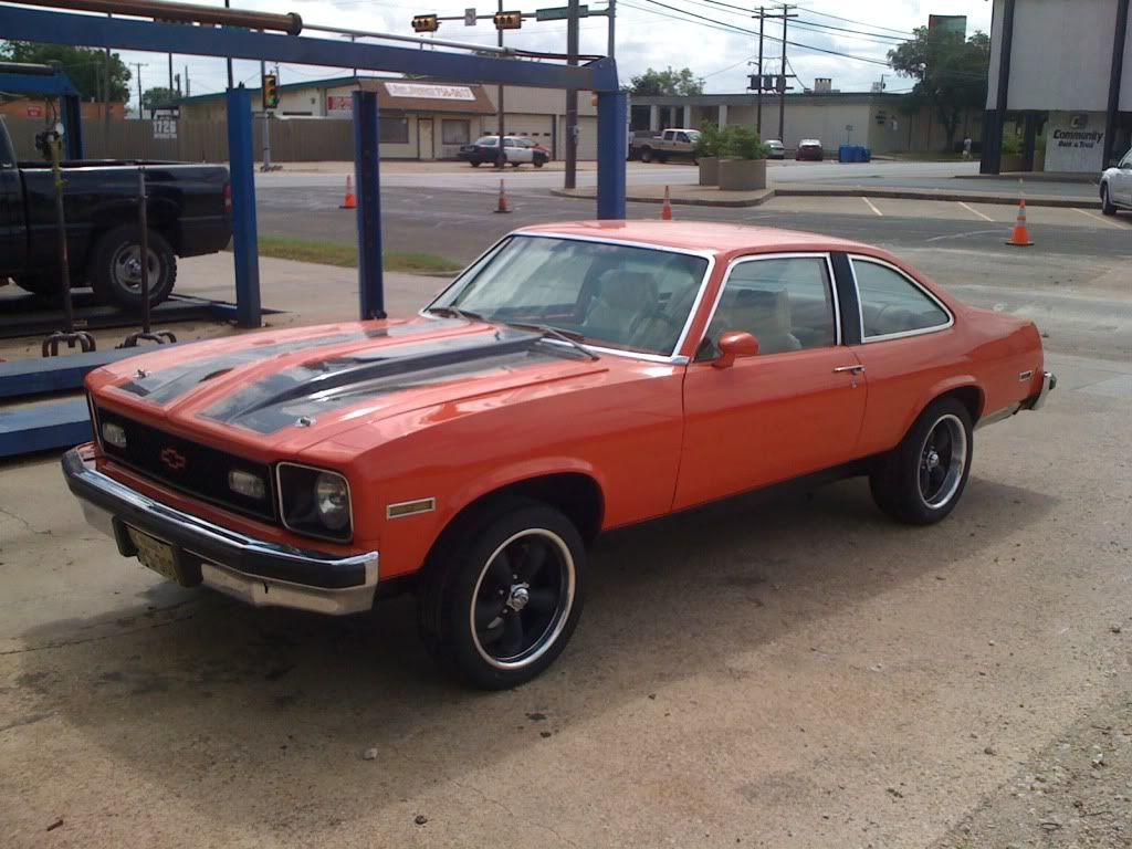 76 nova | robert hugger orange 76 chevy nova 383 stroker th350 3 | Facebook | Pinterest | Chevy ...