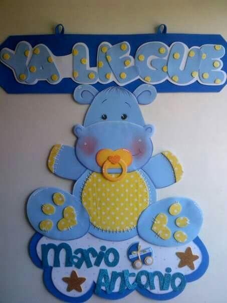 Resultado de imagen para carteles de bienvenida en goma for Decoracion habitacion bebe goma eva