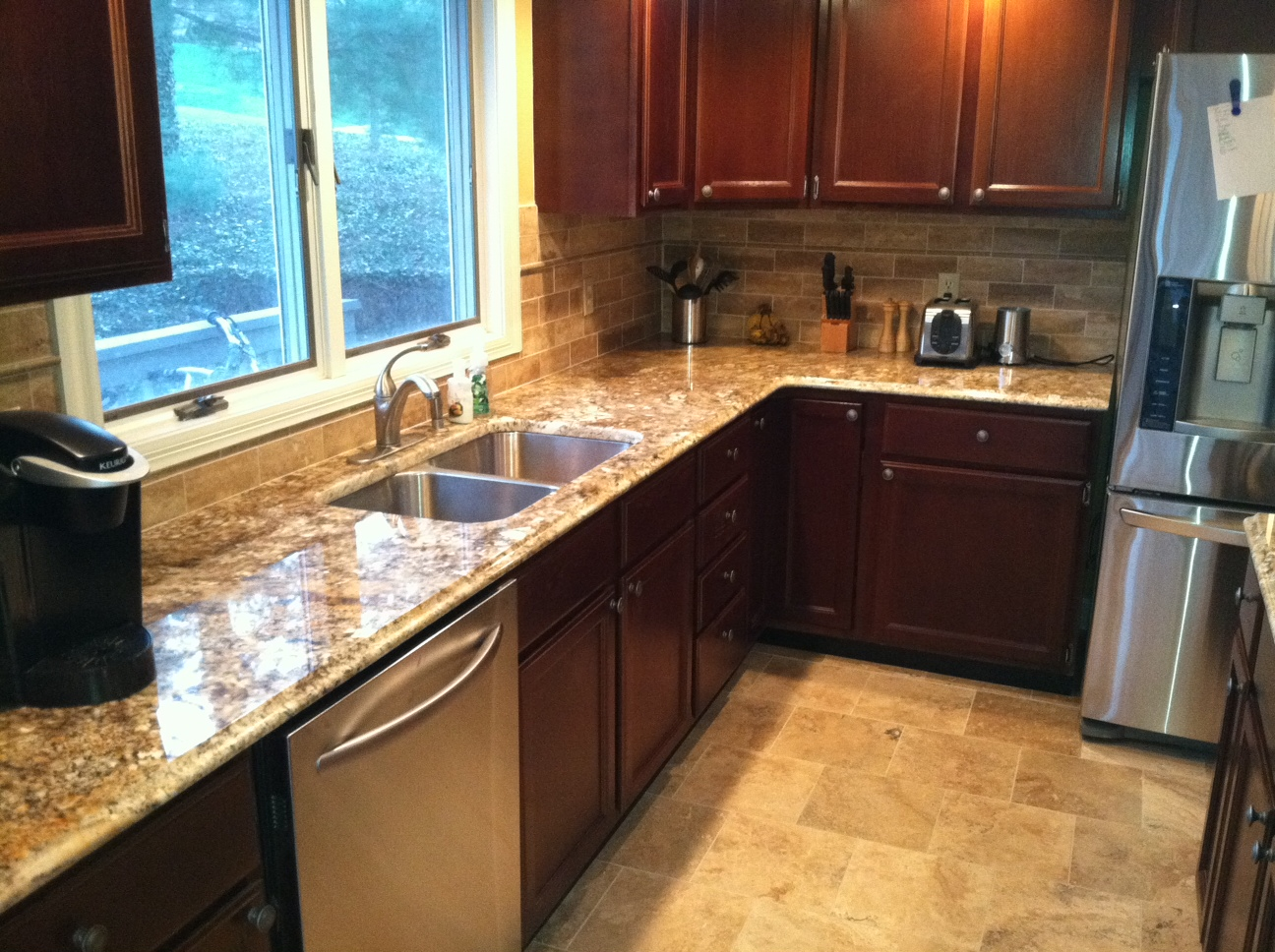 Granite Nilo River Countertops Fabricated And Installed By