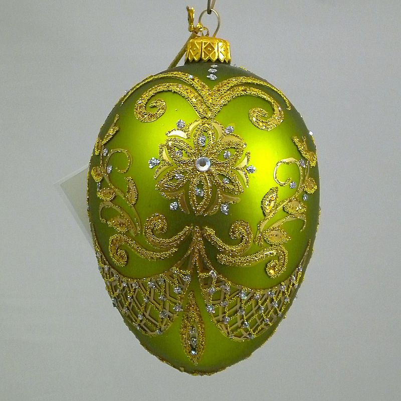 polish glass christmas ornaments Christmas Eggs Pinterest - polish christmas decorations