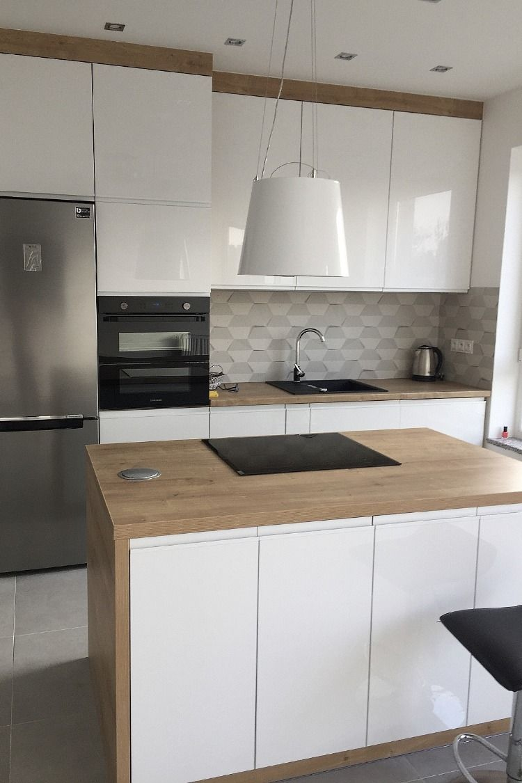 Okap Wyspowy Ameris White Nortberg Kitchen Furniture Design Small Apartment Kitchen Kitchen Interior