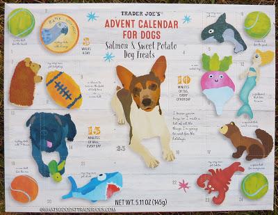 Trader Joe's Advent Calendar For Dogs Dog advent