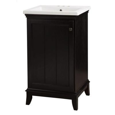 Home Decorators Collection Dunsby 20 1 2 In Vanity In Espresso