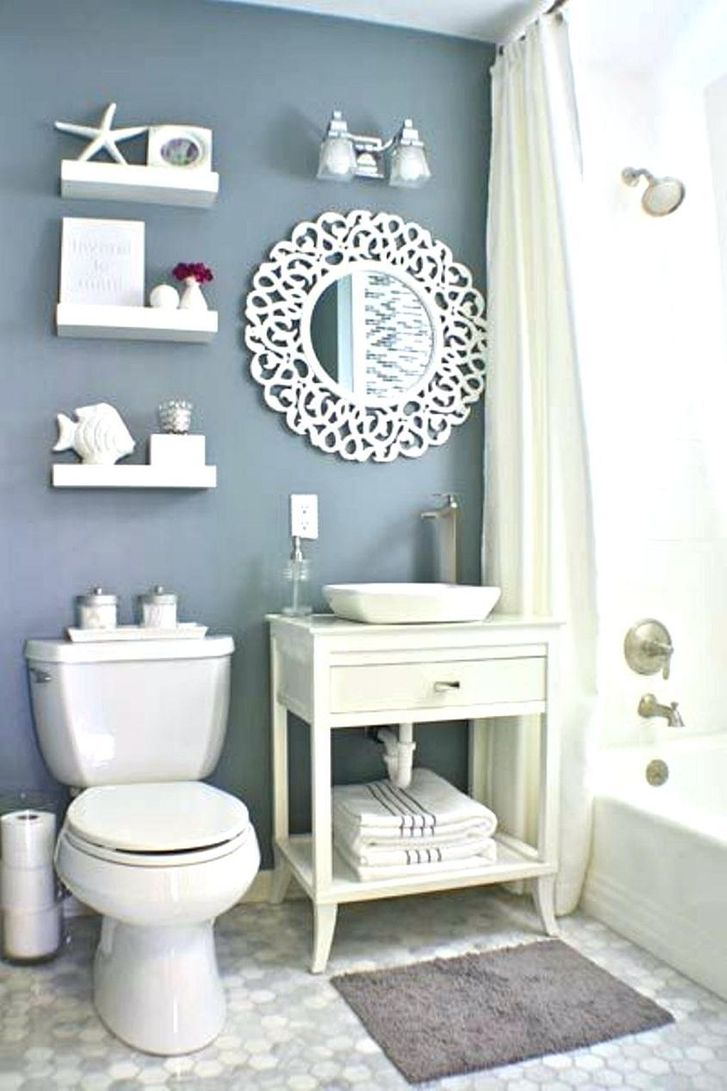 Incredible A Beach Themed Bathroom Ideas 14 With Images