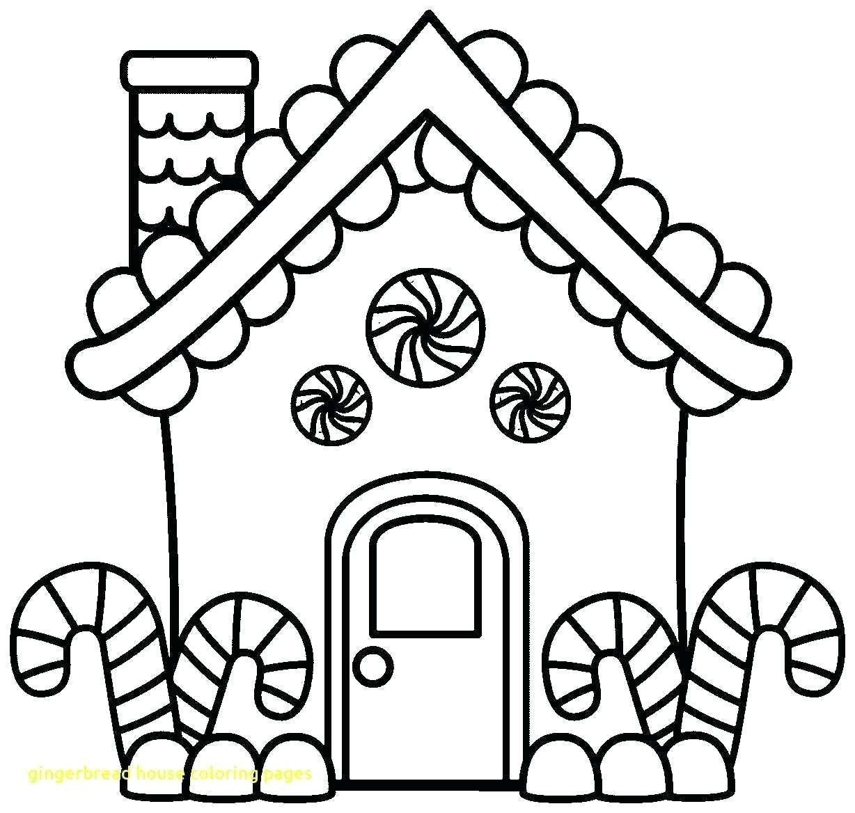 27 Luxury Gingerbread House Coloring Page In 2020 With Images