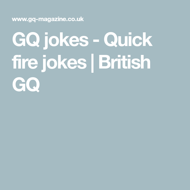 The Best Short Jokes As Picked By Britain S Comedians Best Short Jokes Jokes Short Jokes