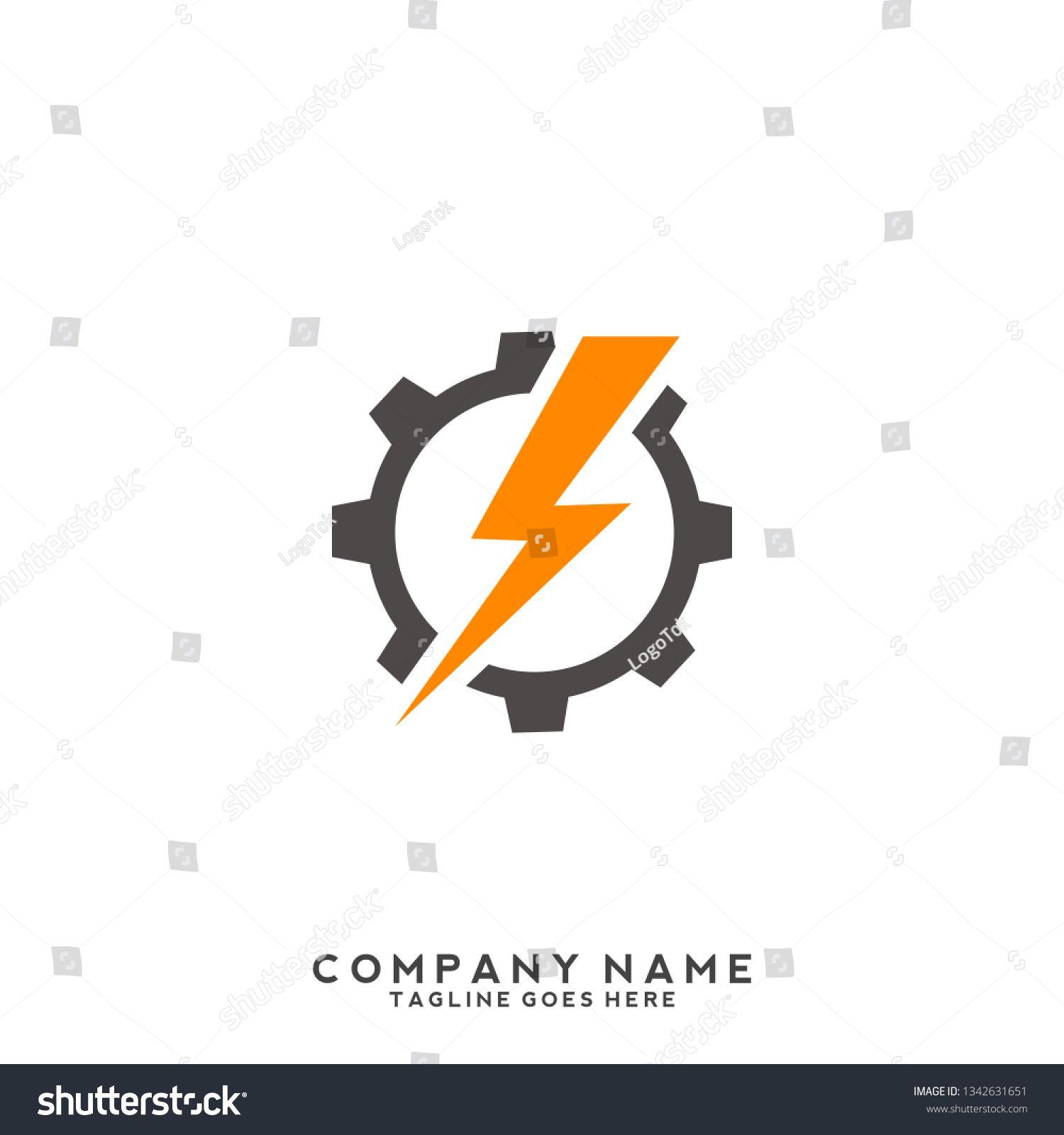 Electric Logo Template Vector Illustration Sponsored Sponsored Logo Electric Template Illustration In 2020 Graphic Design Logo Logo Graphic Logo Templates