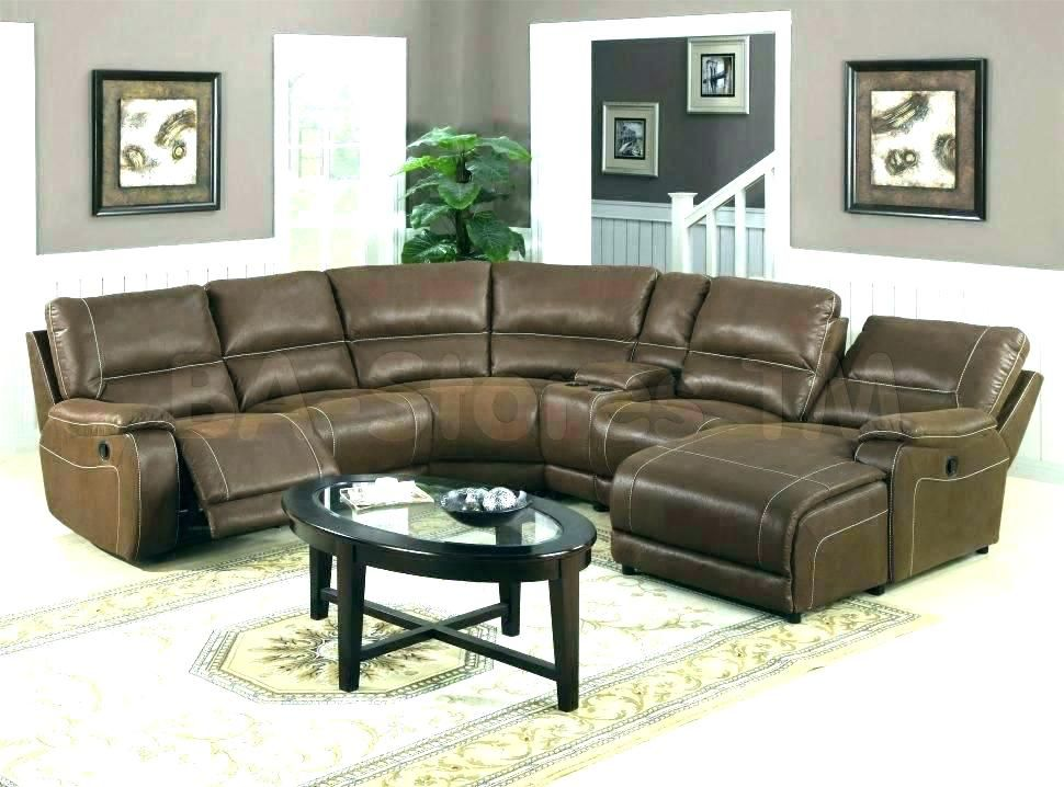 New Curved Sectional Recliner Sofas For Sectional Sofas With